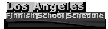 LAFinnishSchoolSchedule