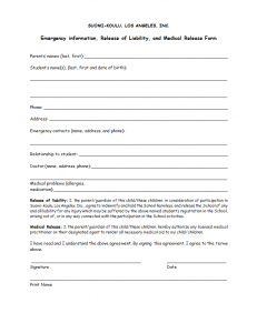 Download Liability Release Form