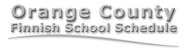OrangeCountyFinnishSchoolSchedule