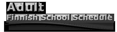 AdultFinnishSchoolSchedule